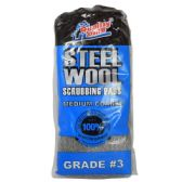 48 Units of 10 Pack Steel Wool Scrubbing Pads - Scouring Pads & Sponges
