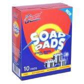 48 Units of Steel Wool Soap Pads 10ct Quality Home