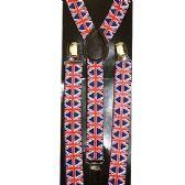 96 Units of UNION FLAG SUSPENDERS - Suspenders