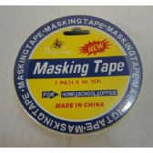 "48 Units of 1""x40yd Masking Tape - Tape"