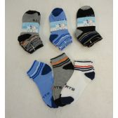 60 Units of 3pr Boy's Anklet Socks 6-8 [Sports] - Boys Ankle Sock
