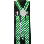 48 Units of GREEN SUSPENDERS - Suspenders