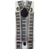 48 Units of KIDS PIANO SUSPENDERS - Suspenders