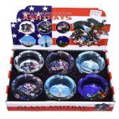 48 Units of Ashtray Glass USA - Ashtrays