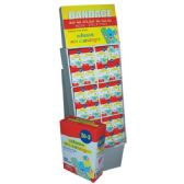 144 Units of Bandage Kid 35ct Floor Display