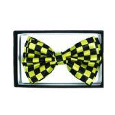48 Units of Checkered Yellow Bowtie 046 - Neckties