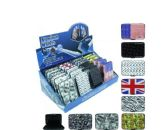 72 Units of ASSORTED STYLE ALUMINUM WALLET