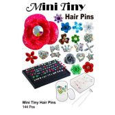 144 Units of MINI TINY HAIR PINS - Hair Accessories