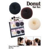 48 Units of DONUT HAIR BUN - Hair Accessories