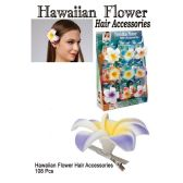 108 Units of HAWAIIAN FLOWER HAIR ACCESSORIES - Hair Accessories
