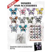 60 Units of SHAKIRA HAIR ACCESSORIES BUTTERFLY - Hair Accessories