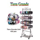 432 Units of TIERA GRANDE - Hair Accessories