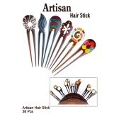 36 Units of ARTISAN HAIR STICK - Hair Accessories