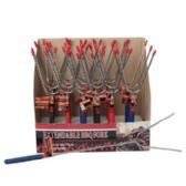 48 Units of Extendable BBQ Fork - BBQ supplies