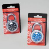48 Units of 50mm Heavy Duty Steel Combination Lock - PADLOCKS/IRON/BRASS/COMBO