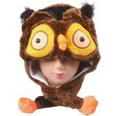 36 Units of OWL WINTER ANIMAL HAT