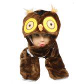 24 Units of OWL WINTER ANIMAL HAT
