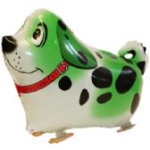 100 Units of WALKING DOG BALLOON IN GREEN - Balloons/Balloon Holder