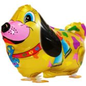 100 Units of WALKING DOG BALLOON COLORFUL - Balloons/Balloon Holder