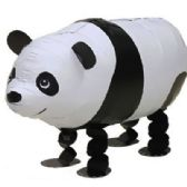 100 Units of WALKING PANDA BALLOON - Balloons/Balloon Holder