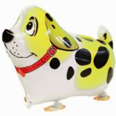100 Units of WALKING DOG BALLOON IN YELLOW - Balloons/Balloon Holder