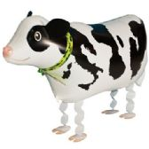 100 Units of WALKING COW BALLOON - Balloons/Balloon Holder