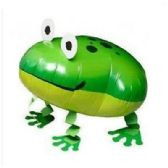100 Units of WALKING FROG BALLOON - Balloons/Balloon Holder