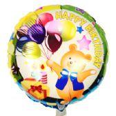 144 Units of HAPPY BIRTHDAY BALLOON - Balloons & Balloon Holder