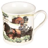 72 Units of COFFEE MUG RURAL LIFE - Coffee Mugs