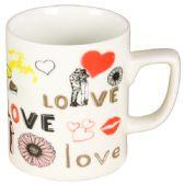 72 Units of LOVE STYLE COFFEE MUG - Coffee Mugs