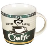72 Units of LOVE COFFEE MUG - Coffee Mugs