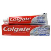 24 Units of Colgate 8oz BS Whitening Brisk Mint Paste - Toothbrushes and Toothpaste