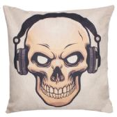 36 Units of PILLOW WITH SKELETON AND HEADPHONES - Pillows