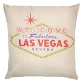 36 Units of PILLOW WITH WELCOME LAS VEGAS - Pillows