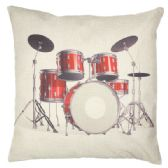 36 Units of PILLOW WITH DRUMSET PICTURE - Pillows