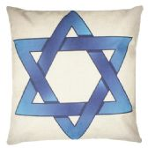 36 Units of WHITE PILLOW WITH BLUE STAR - Pillows