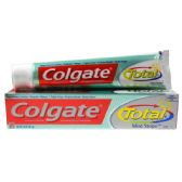 24 Units of Colgate TP Total 7.8oz Mint Stripe Gel - Toothbrushes and Toothpaste