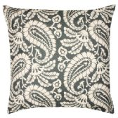 36 Units of BLACK AND WHITE PAISLEY HOME FASHION PILLOW - Pillows