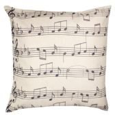 36 Units of HOME FASHION PILLOW WITH MUSICAL NOTES