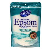 36 Units of Amoray Epsom Salt Bag 16oz Foot Soak - Pain and Allergy Relief
