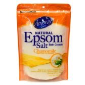36 Units of Amoray Epsom Salt Bag 16oz Eucalyptus - Pain and Allergy Relief