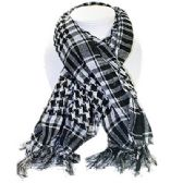 72 Units of PALESTINE SCARVES IN WHITE AND BLACK - Womens Fashion Scarves