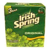 36 Units of Irish Spring 3.75oz 3PK Original - Soap & Body Wash