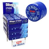 48 Units of Blistex Lip Medex Rack Display .25oz (48/288/CS)