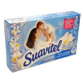 30 Units of Suavitel Dryer Sheet 20CT Field Flowers - Laundry Detergent