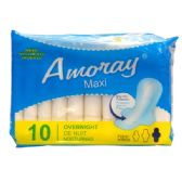 48 Units of Amoray Pads Maxi Overnight 10PK