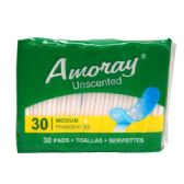 48 Units of Amoray Pads Panty Liner 30PK