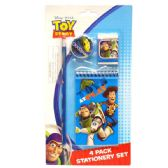 96 Units of Stationery Set 4PK Toy Story - Licensed School Supplies