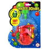 72 Units of Water Balloons 100CT w/ Filler