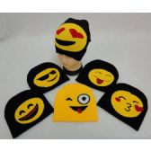 36 Units of Knitted Beanie [Emojis]